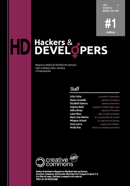 Hackers & Developers Magazine #1