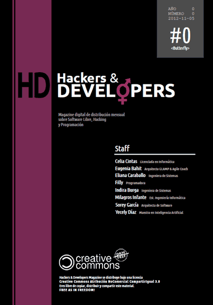 Hackers & Developers Magazine #0