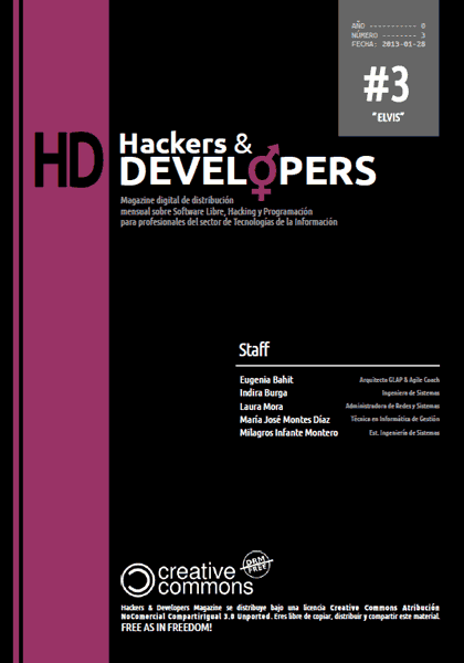 Hackers & Developers Magazine #3