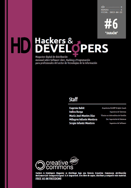 Hackers & Developers Magazine #6