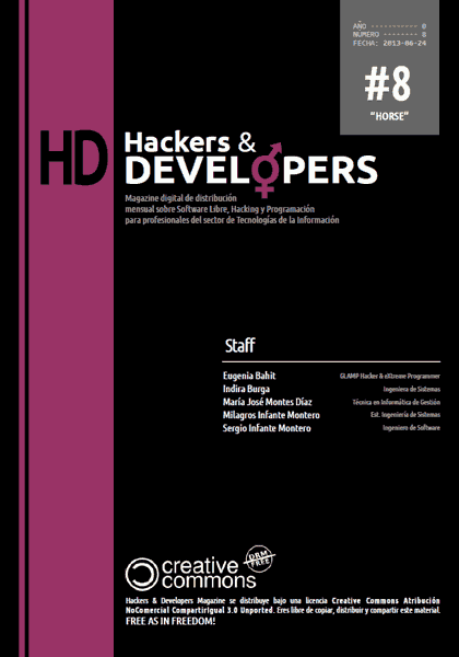 Hackers & Developers Magazine #8