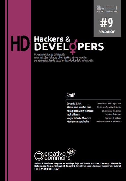 Hackers & Developers Magazine #9